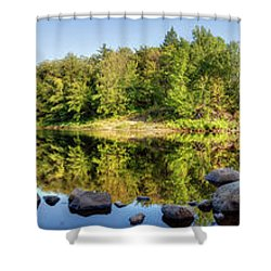 Canadian Lake Shower Curtain