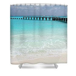 Shower Curtain featuring the photograph Cancun by Milena Boeva