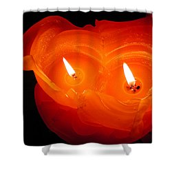 Shower Curtain featuring the photograph Candle Photo by Colette V Hera  Guggenheim