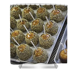 Shower Curtain featuring the photograph Candy Apples by Bill Owen