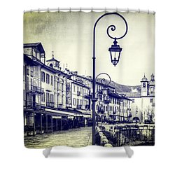 Cannobio Shower Curtain by Joana Kruse