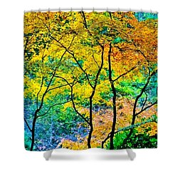 Canopy Of Life Shower Curtain