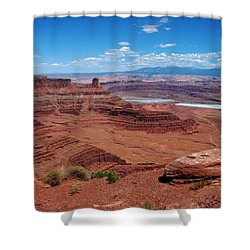 Shower Curtain featuring the photograph Canyonlands by Dany Lison
