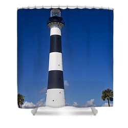 Cape Canaveral Lighthouse 2 Shower Curtain by Roger Wedegis
