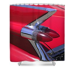 Car Detail Shower Curtain by Garry Gay