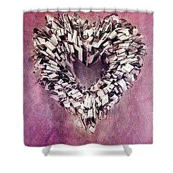 Cardia Shower Curtain by Priska Wettstein