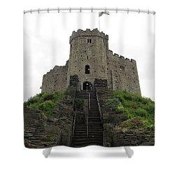 Cardiff Castle Shower Curtain