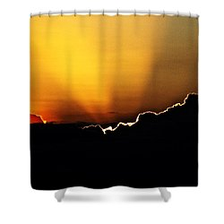 Caribbean Sky Shower Curtain
