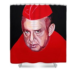 Carlos Bergantinos Shower Curtain by Yelena Tylkina