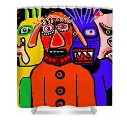 Carnavale 5a Shower Curtain
