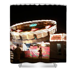 Shower Curtain featuring the photograph Carnival by Clara Sue Beym