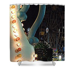 Shower Curtain featuring the photograph Carnivale by Renee Trenholm