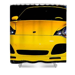 Carrera 4s Shower Curtain