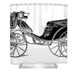 Carriage: Victoria Shower Curtain by Granger