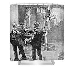 Carter Henry Harrison Shower Curtain by Granger