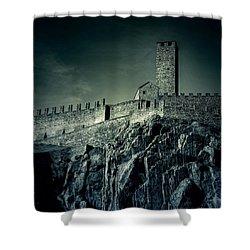Castelgrande Bellinzona Shower Curtain by Joana Kruse