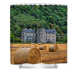 Castle Menzies Shower Curtain
