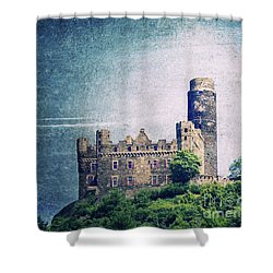 Castle Mouse Shower Curtain by Angela Doelling AD DESIGN Photo and PhotoArt