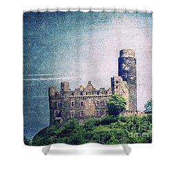 Castle Mouse Shower Curtain