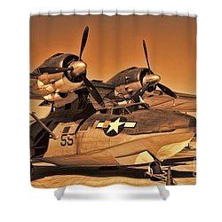 Catalina Shower Curtain by Tommy Anderson