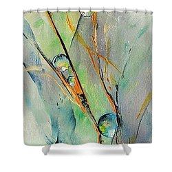 Cavale Shower Curtain by Francoise Dugourd-Caput