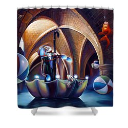 Caverna Magica Shower Curtain by Patrick Anthony Pierson