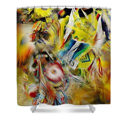 Shower Curtain featuring the photograph Celebration Of Nations by Vicki Pelham