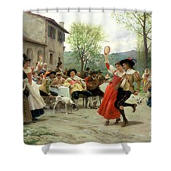 Celebration Shower Curtain by William Henry Hunt