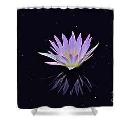 Celestial Waterlily Shower Curtain