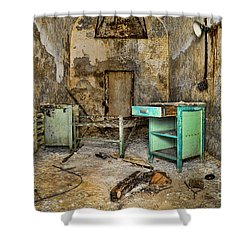 Cell Block 5 Shower Curtain by Paul Ward