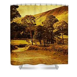 Celtic Spirit. Wicklow  Mountains. Ireland Shower Curtain by Jenny Rainbow