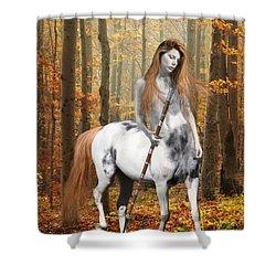 Centaur Series Autumn Walk Shower Curtain by Nikki Marie Smith