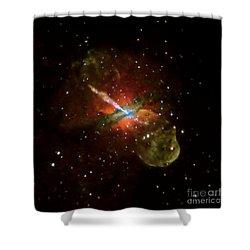Centaurus A Shower Curtain by Nasa