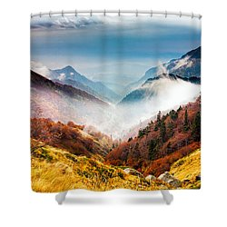 Central Balkan National Park Shower Curtain by Evgeni Dinev