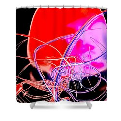Cephalopod Shower Curtain