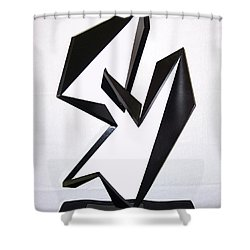 Cha Cha Cha Shower Curtain by John Neumann