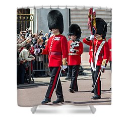 Changing Of The Guard At Buckingham Palace Shower Curtain