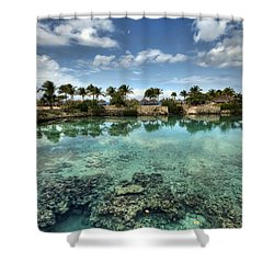 Chankanaab Lagoon Shower Curtain