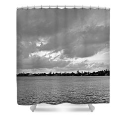 Channel View Shower Curtain