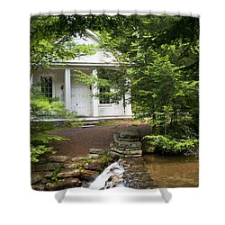 Chapel At Hickory Run State Park Shower Curtain