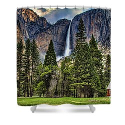 Chapel In The Valley 2 Shower Curtain