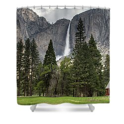 Chapel In The Valley Shower Curtain