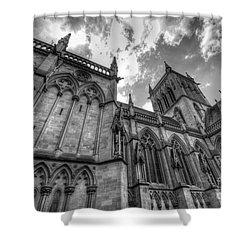 Chapel Of St. John's College - Cambridge Shower Curtain by Yhun Suarez