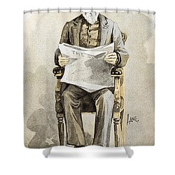 Charles Anderson Dana Shower Curtain by Granger