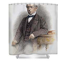 Charles Francis Adams Shower Curtain by Granger
