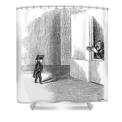 Charles Stratton Shower Curtain by Granger