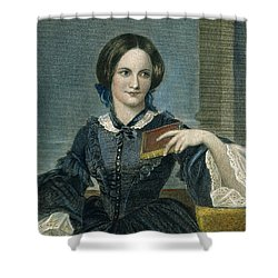 Charlotte Bronte Shower Curtain by Granger