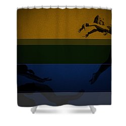 Chase Shower Curtain by Naxart Studio