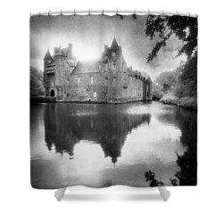 Chateau De Trecesson Shower Curtain by Simon Marsden