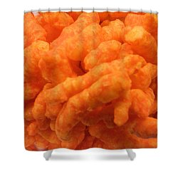 Cheesy Poofs Shower Curtain